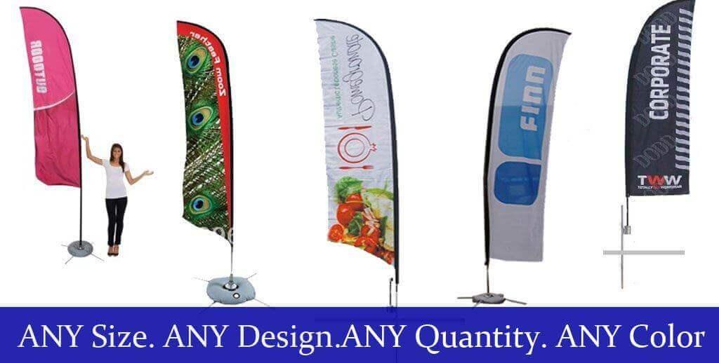 feather flag custom - Custom Feather Flags